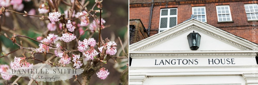 blossom and langtons house wedding