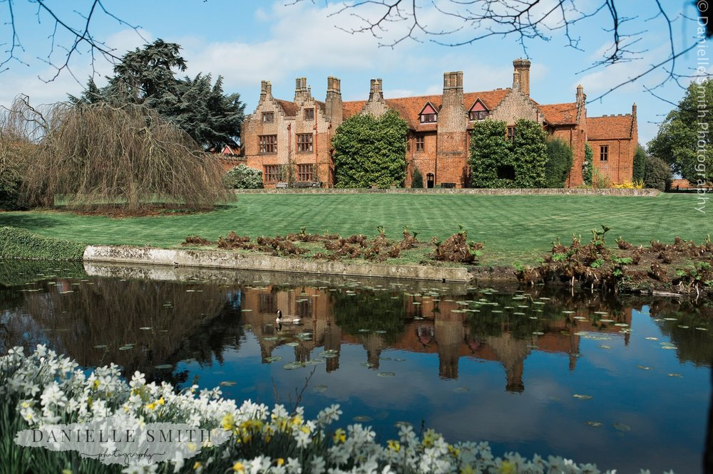 Ingatestone Hall wedding venue in spring
