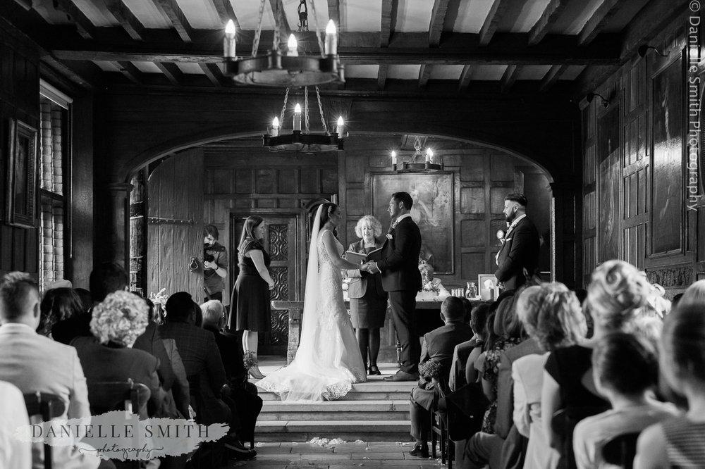 wedding ceremony - ingatestone hall wedding