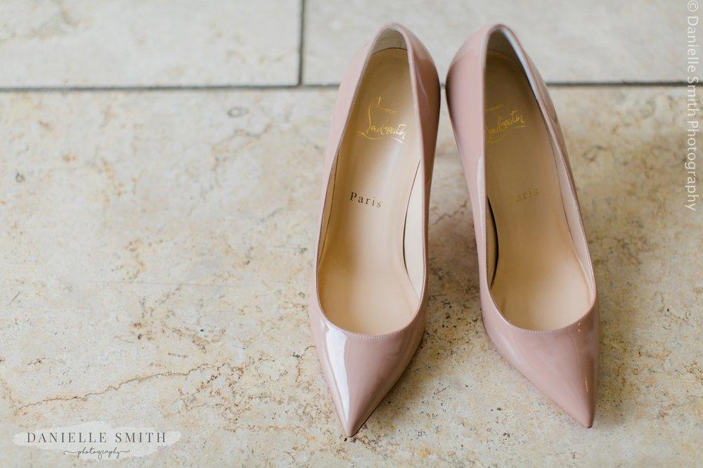 louboutin wedding shoes
