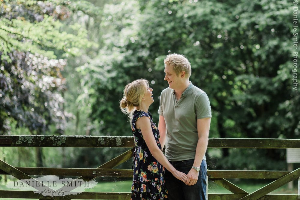 couple laughing - little easton pre-wedding photography