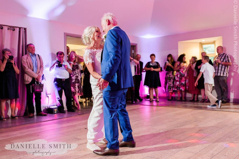 older couple- first dance at houchins
