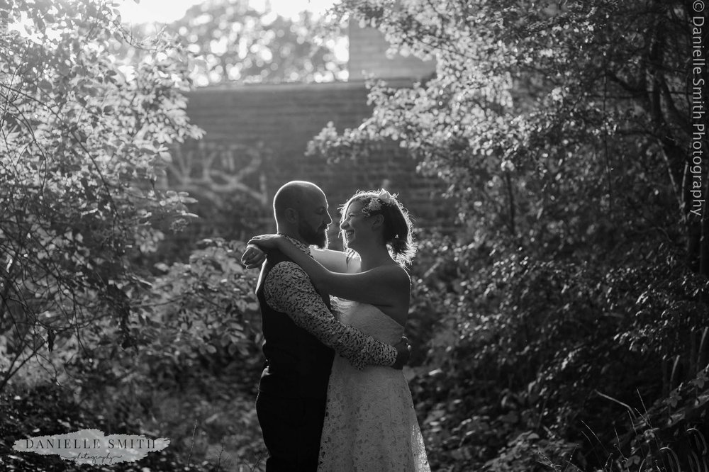 bride and groom - east london wedding
