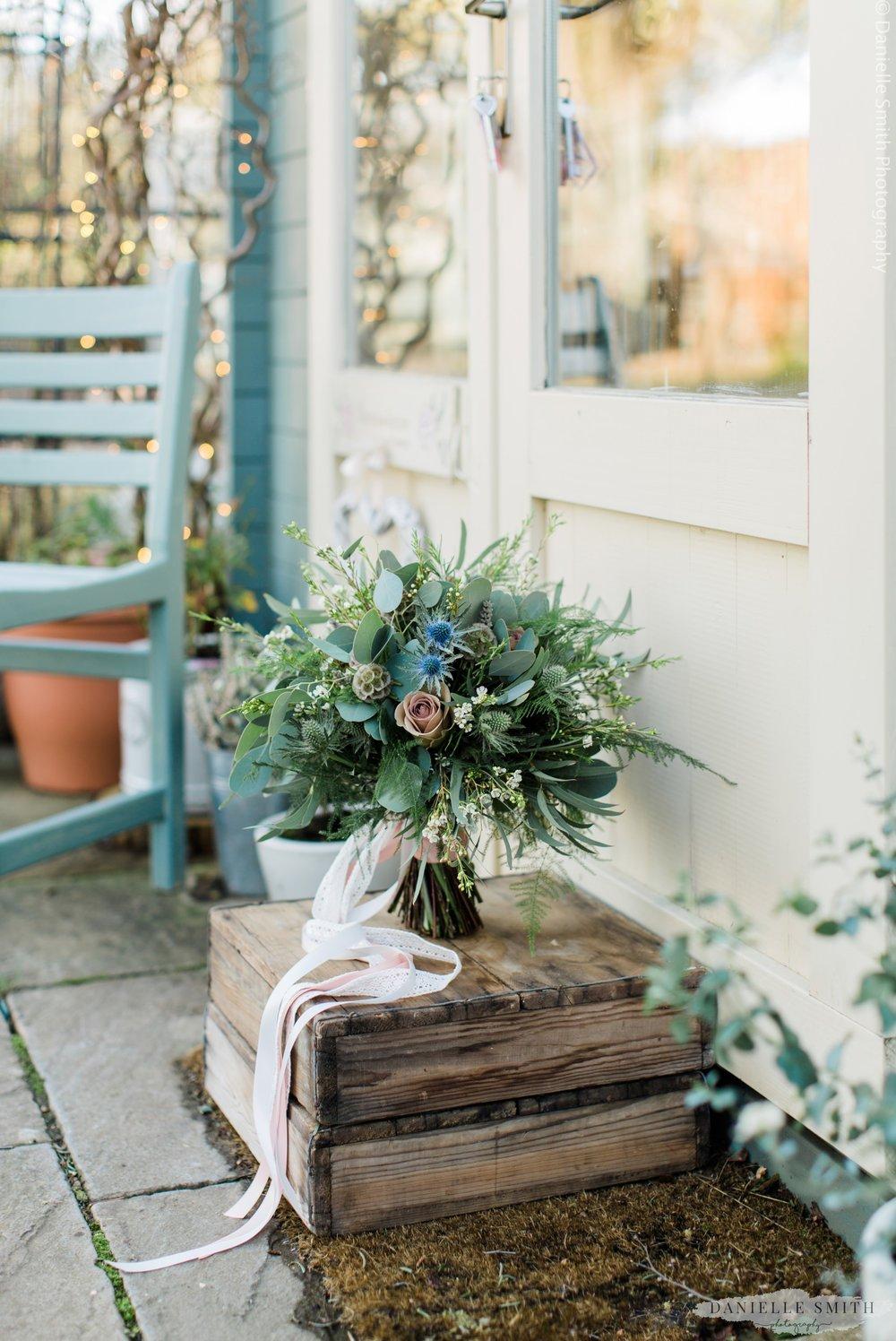 photo of wedding bouquet- photography training