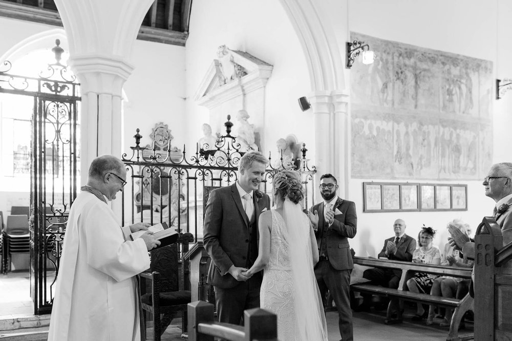 wedding ceremony - church wedding dunmow