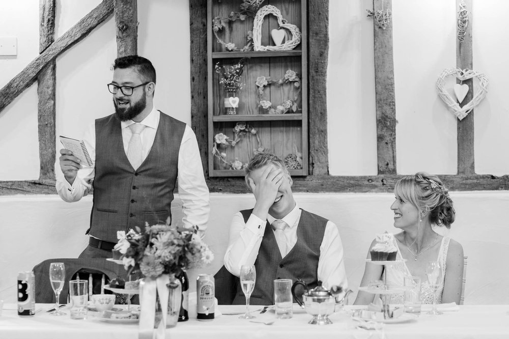 best man shames groom during speech