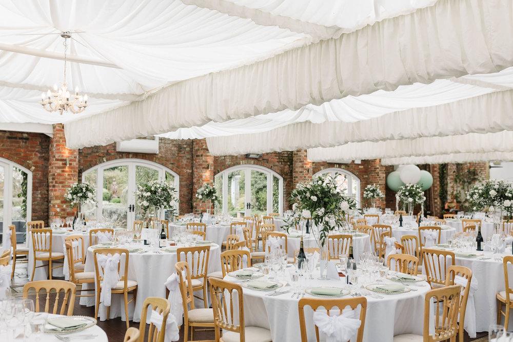 rustic wedding reception decor - northbrook house wedding