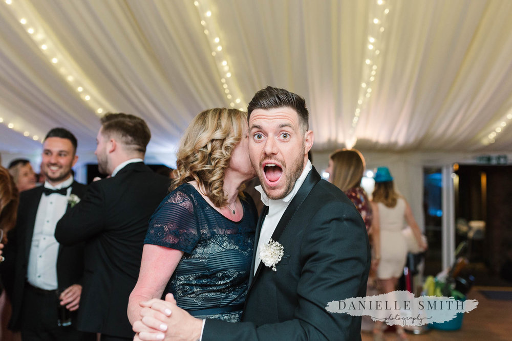 wedding guests shocked