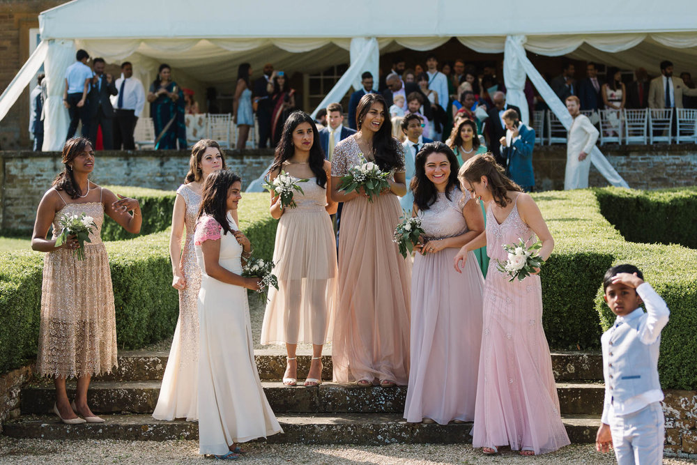 bridesmaids at Poundon House