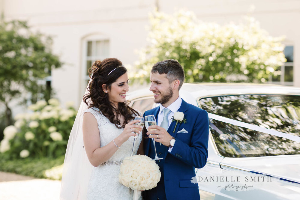 chilled turkish-english wedding at Sopwell House