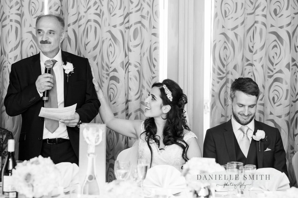 father of bride giving speech at sopwell house