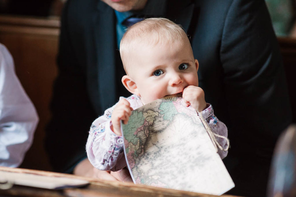 baby eating order of service