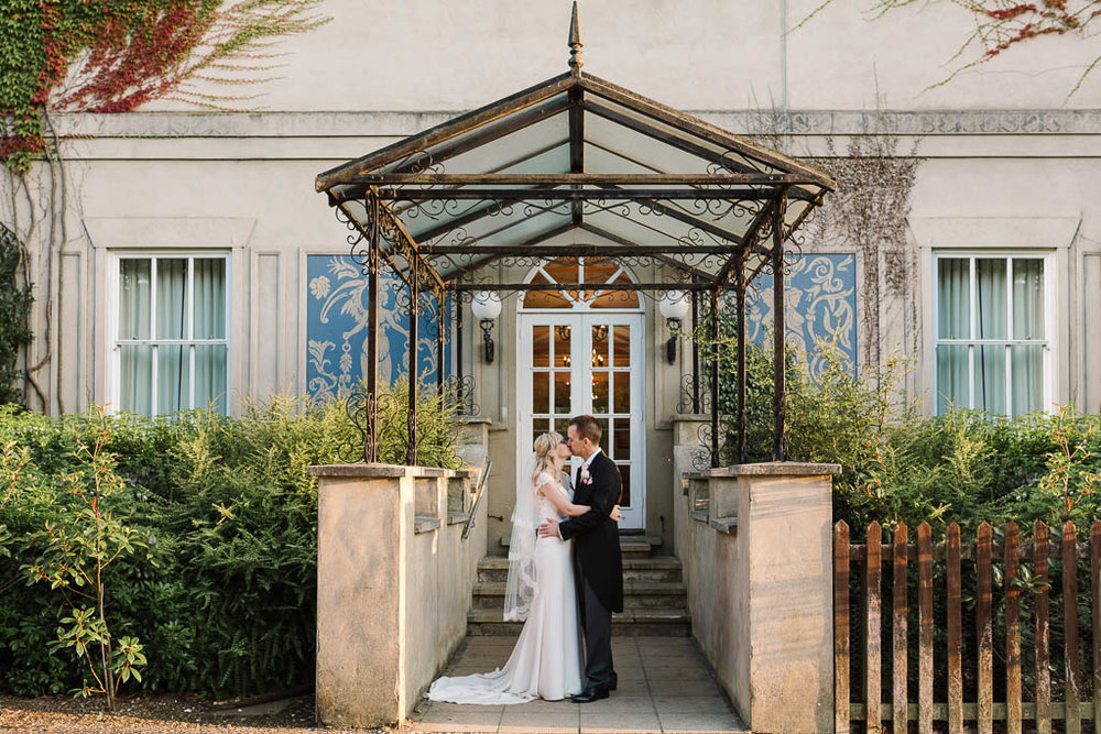 bride and groom - Fun Country House Wedding