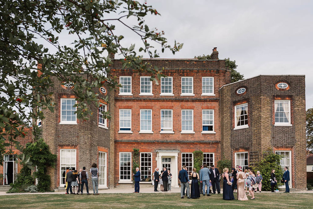 LANGTONS HOUSE WEDDING AND CHILLED GARDEN RECEPTION AT HOME