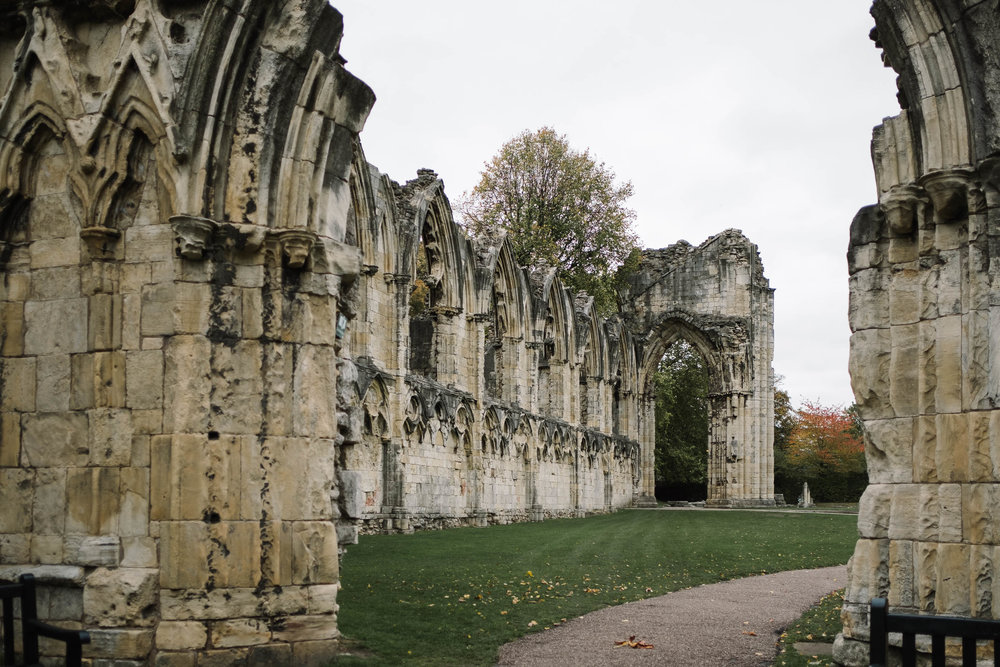 The Hospitium, York ruins