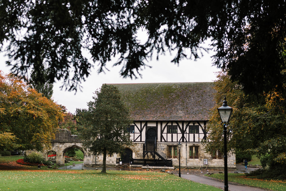 The Hospitium, York in autumn