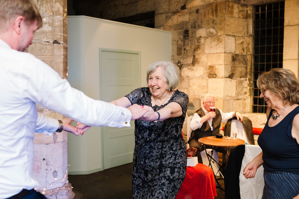 Autumn Wedding at The Hospitium, York