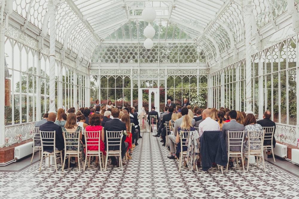 The Horniman Museum Wedding - Image by  Jonny Donovan