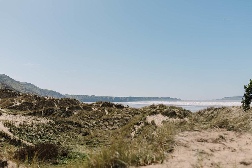 llangennith beach wales