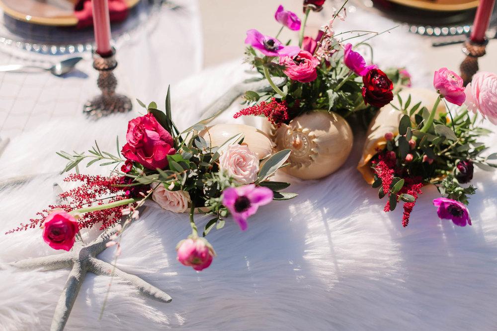 wedding flowers for beach wedding