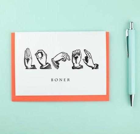 Meheheheh #boner . . . #gifting #maker #makersmovement #makersgonnamake #boner #greetingscard #bonercard #etsy #etsyseller #etsyshop @etsy @etsyuk
