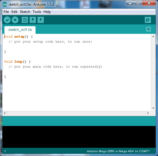 Interface of Arduino