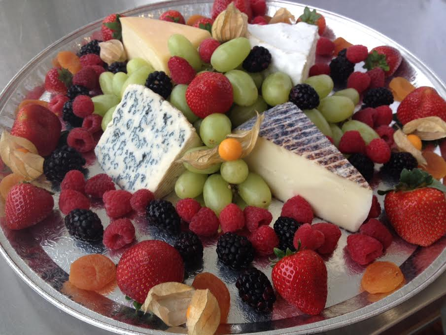 Just a glimpse of one of the beautiful platters we can put together for your event!