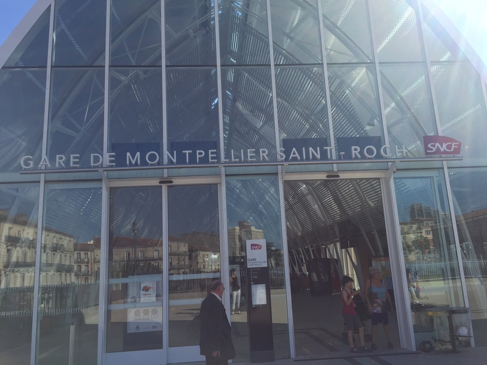 The new and improved Gare de Montpellier Saint-Roch.