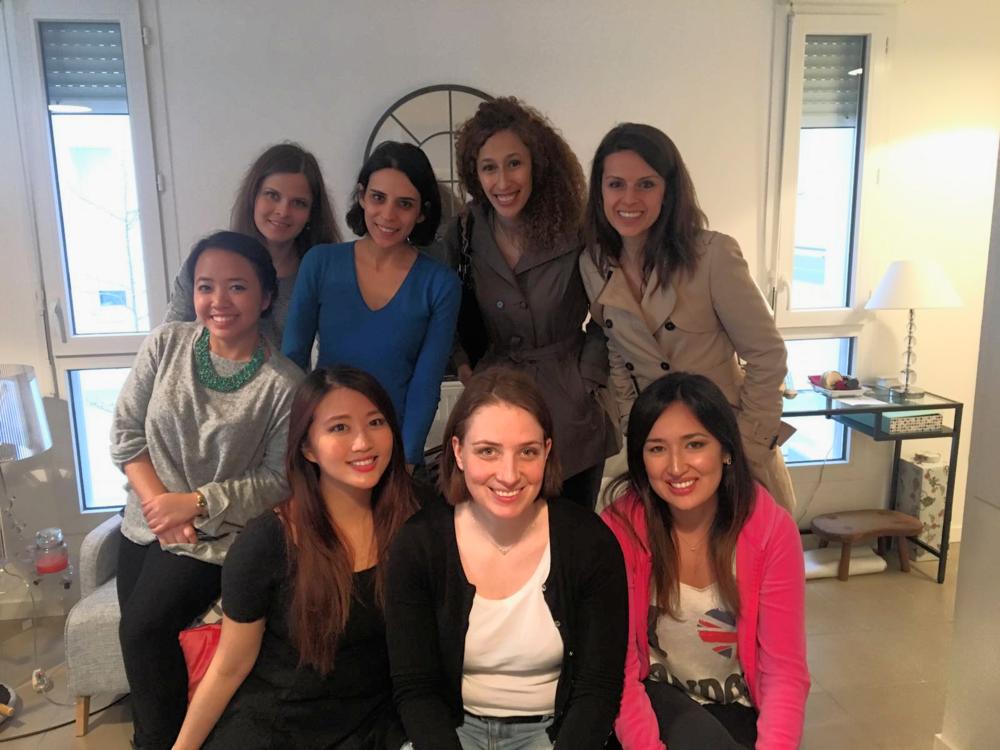 International MBA ladies!