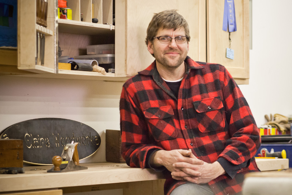 Tim Brudnicki, handcrafted furniture maker