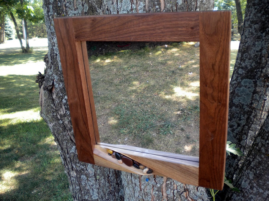 16x16 Mirror by Eau Claire Woodworks