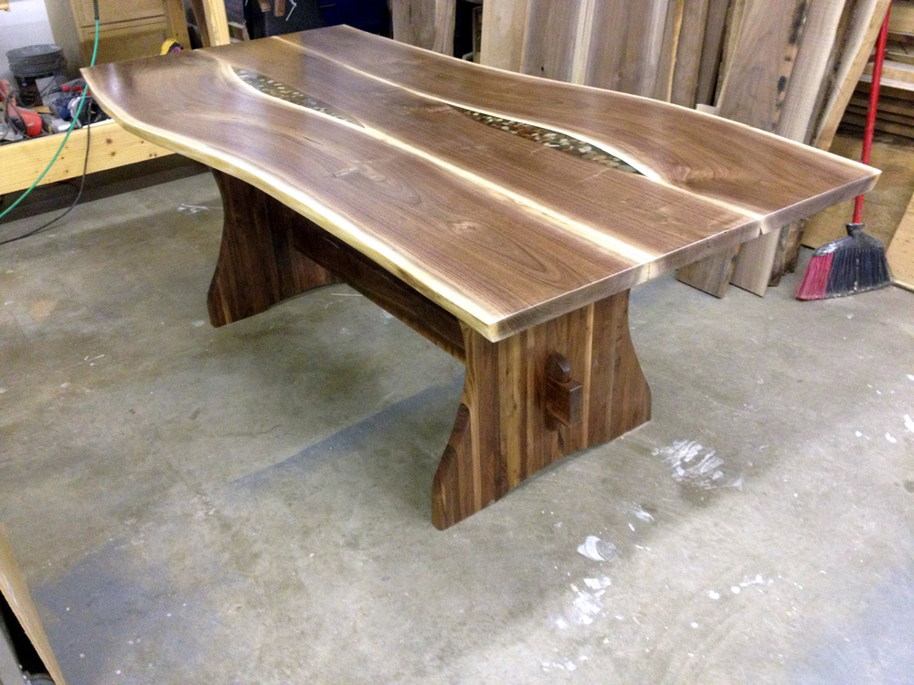 Dining Table by Eau Claire Woodworks