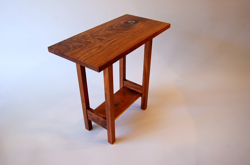 Pool End Table by Eau Claire Woodworks