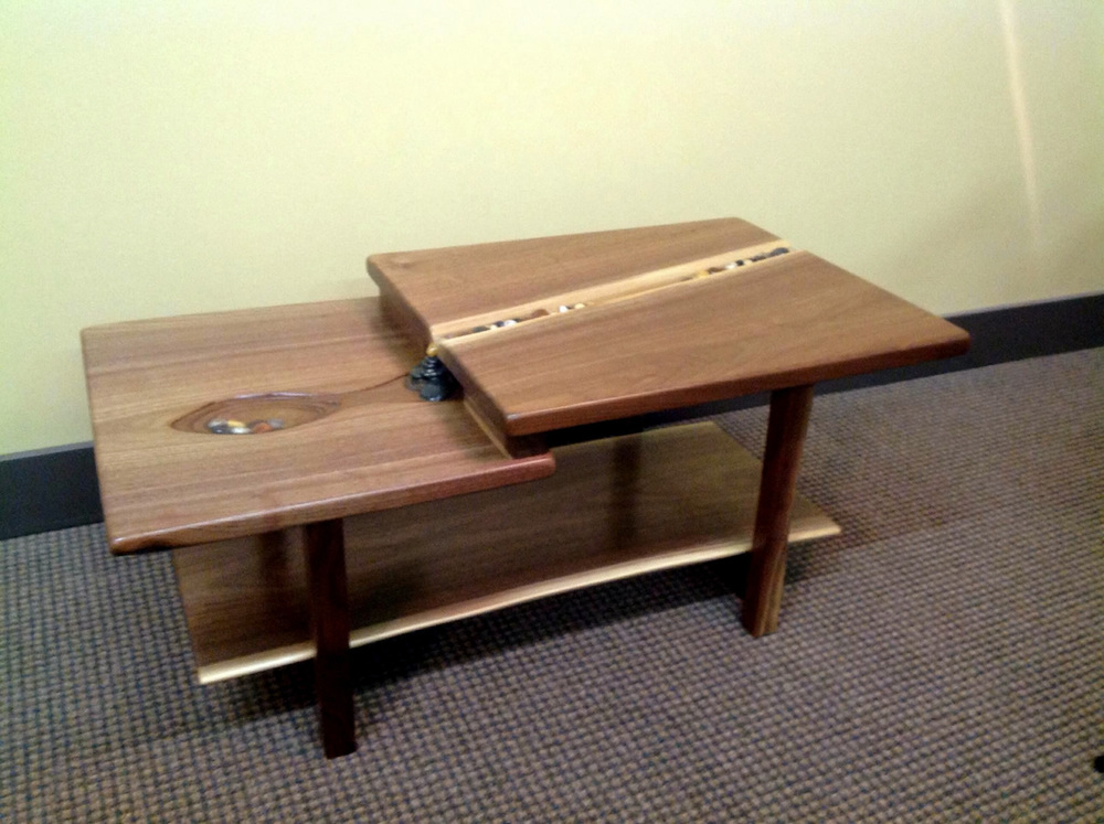 Waterfall Coffee Table by Eau Claire Woodworks