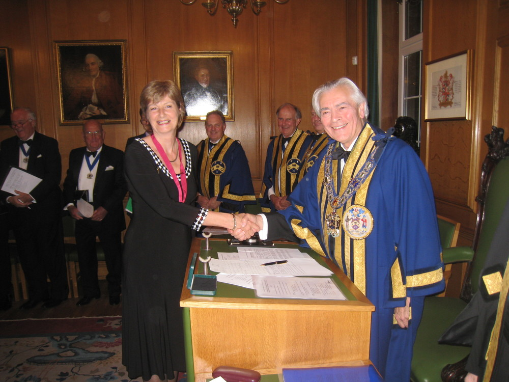 Steward Catherine Carr & Master