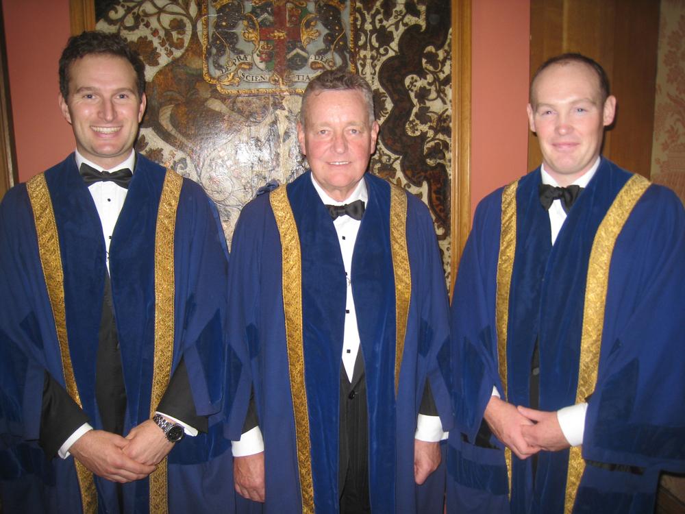 J Turnbull/H Hobson/B Hayler - New Liverymen