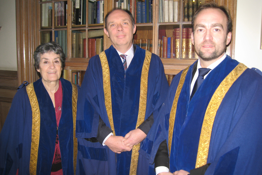 New Liverymen - Dorothy Rochester, Paul Day, Adam Robinson