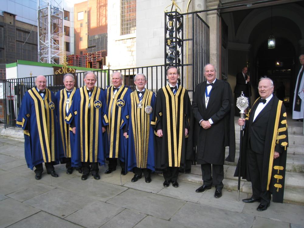 The Master, Wardens, Clerk, Ass Clerk & Beadle