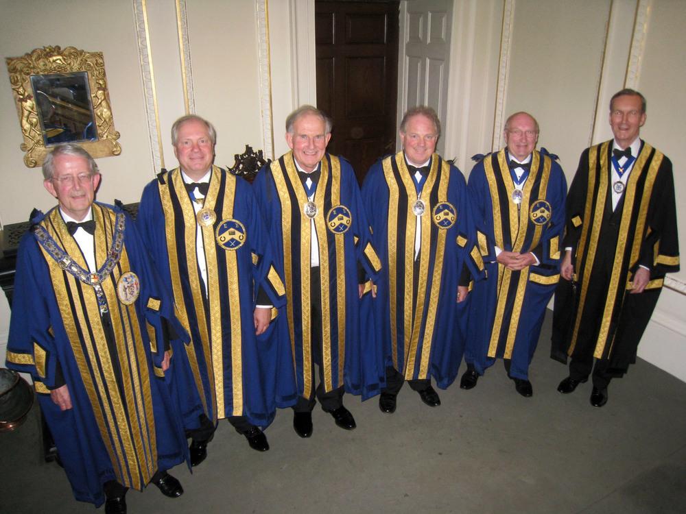 Master, Wardens & Clerk