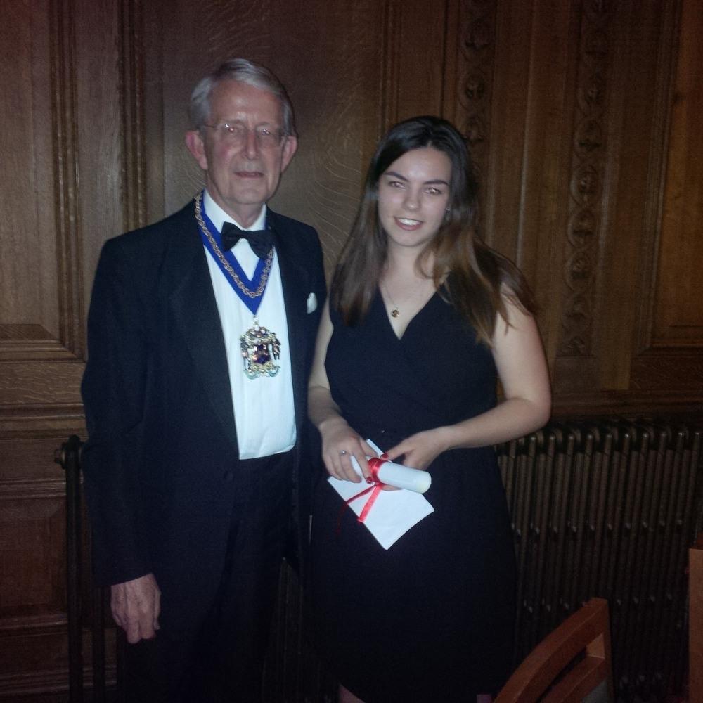 RSN Prizewinner Miss Constance Wynn