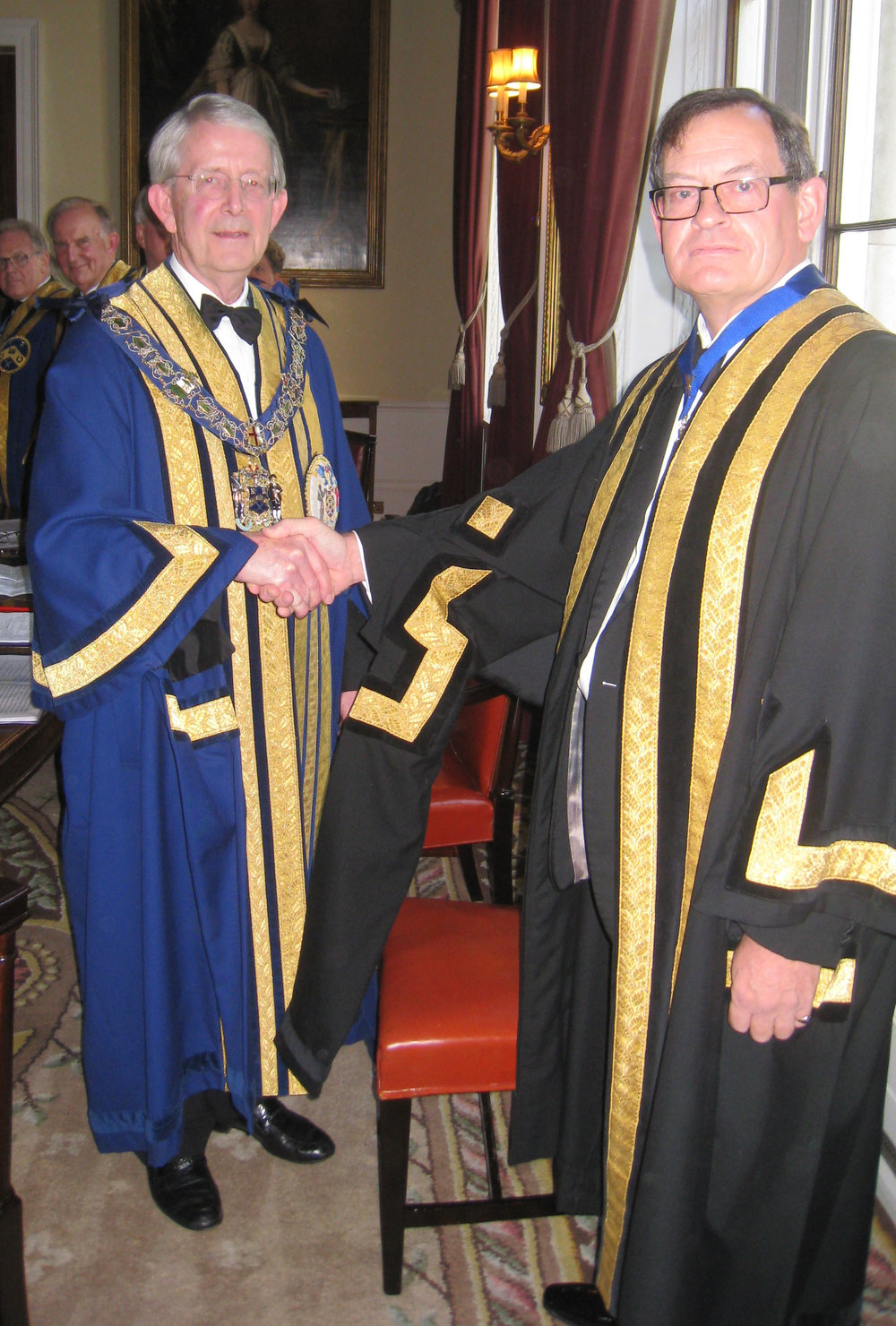 Master & Clerk Cdr Mark Dickens RN