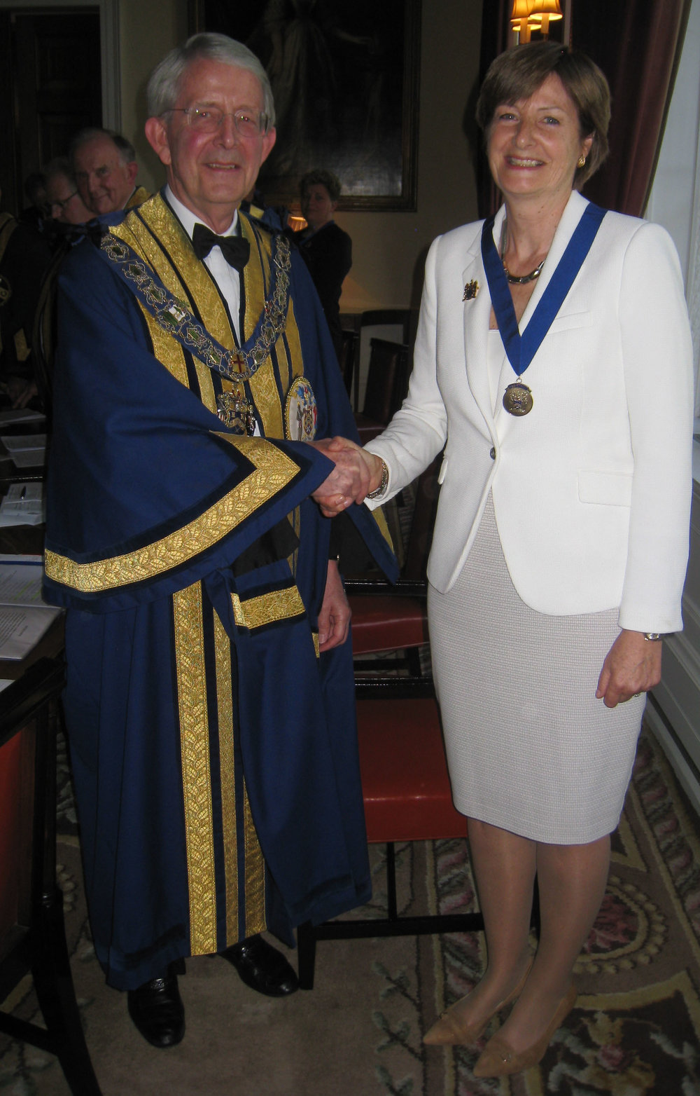 Master & New Assistant Catherine Carr