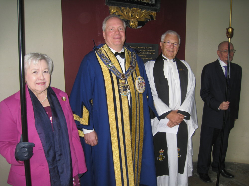 Church Wardens with The Master & Honorary Chaplain
