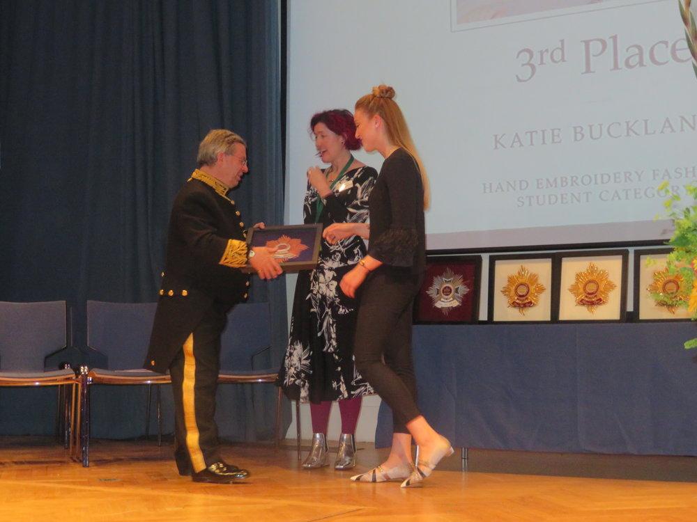 Bronze Winner Student Fashion - Katie Buckland