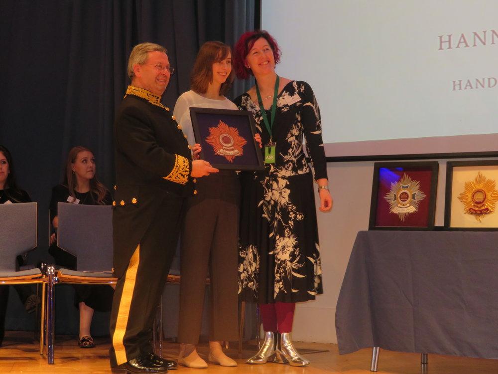 Bronze Winner Open Fashion - Hannah Mansfield