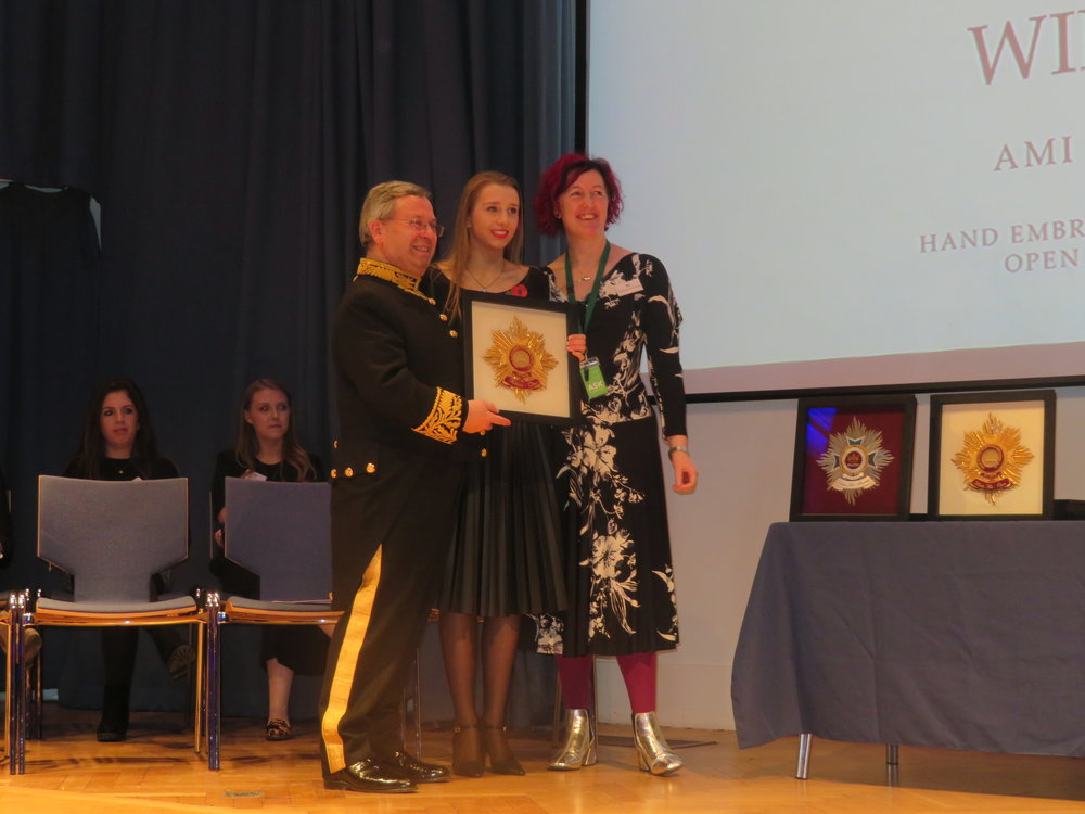 Gold Winner Open Fashion - Ami Waring