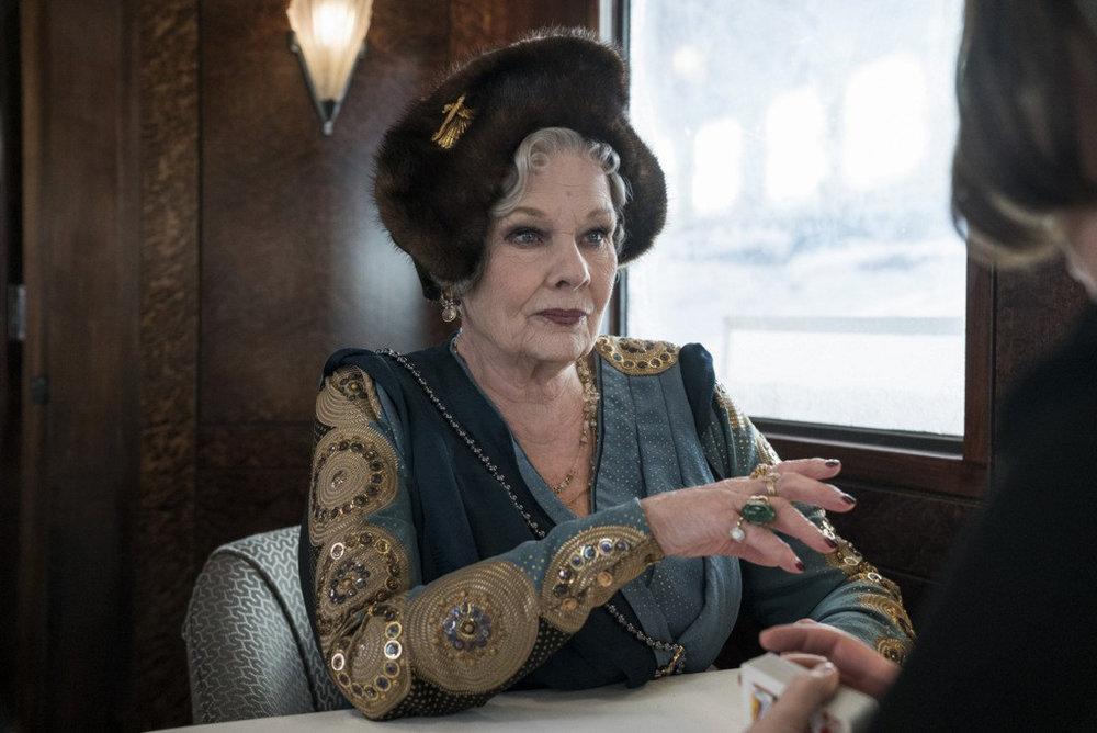 2 - Princess Dragomiroff (Judi Dench)