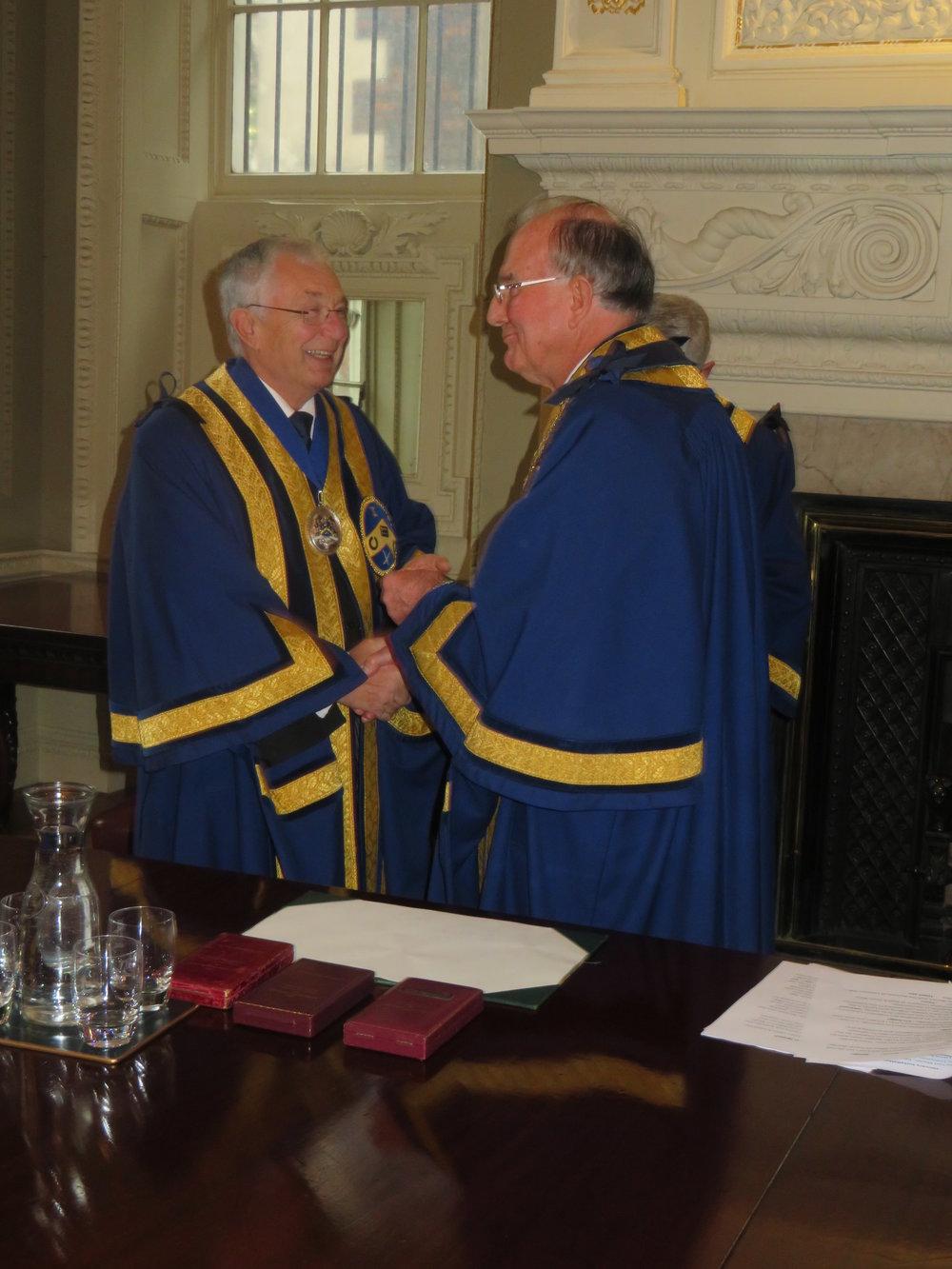 Honorary Chaplain Third Warden The Reverend G L Warren