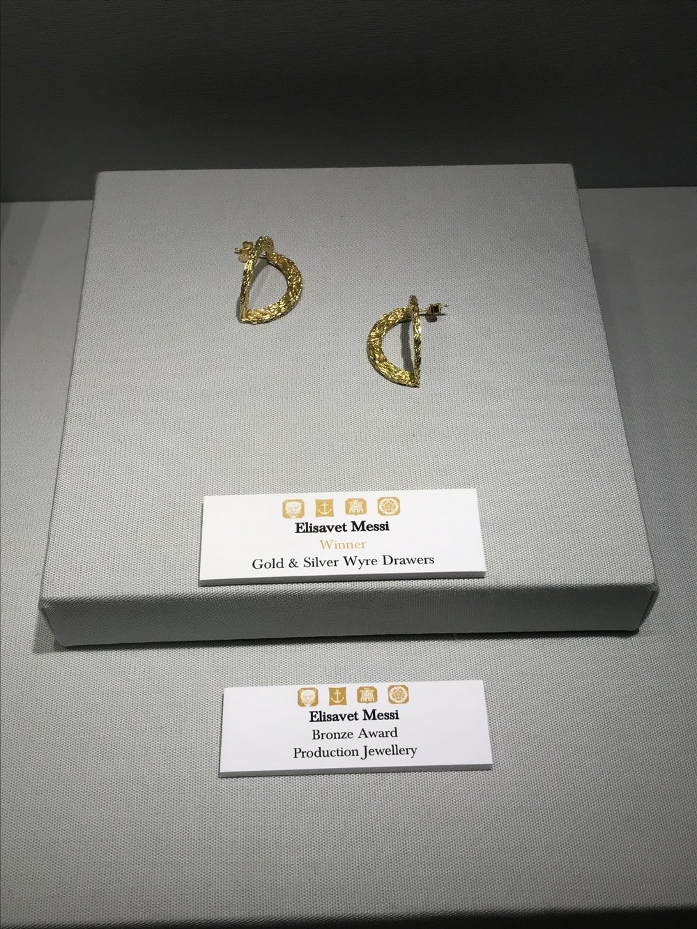 Elisavet Messi Award Earrings