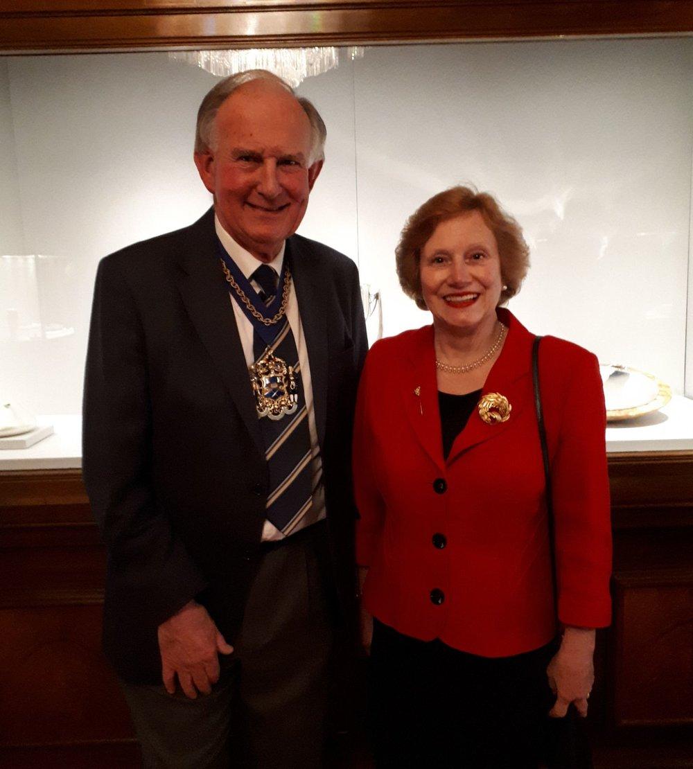 The Master-Judith Cobham-Lowe OBE Prime Warden Goldsmiths